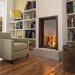 vitre insert cheminée droit Poêle à bois & Co à Argenteuil