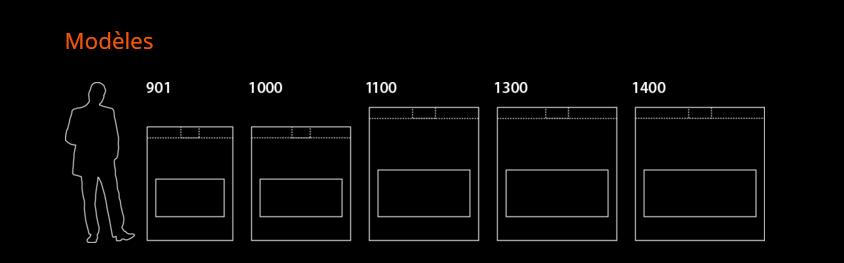 Dimensions modèles foyers horizons
