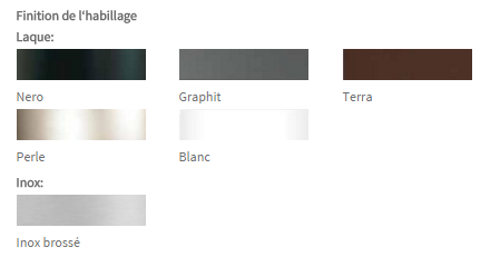 coloris Passo Xs Spartherm