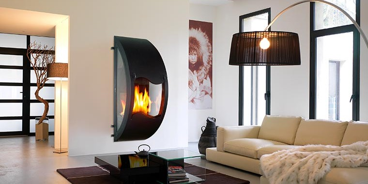 cheminée contemporaine arkiane gaïa
