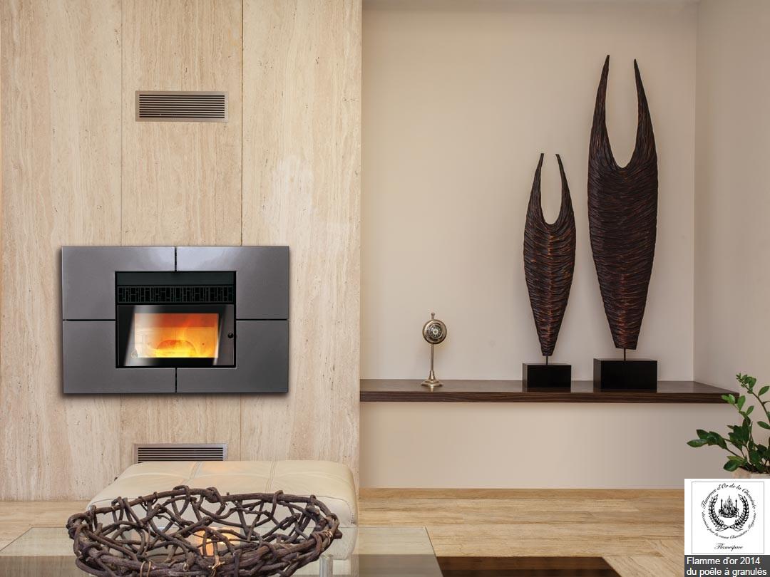chemin e polyflam street avec t l commande. Black Bedroom Furniture Sets. Home Design Ideas