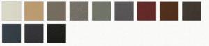 coloris polyflam Petite Mirage IV acier