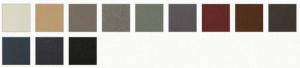 coloris mirage IV acier polyflam